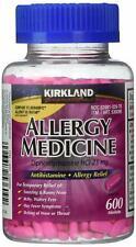 Kirkland ALLERGY MEDICINE Diphenhydramine HCI 25mg 600 Minitabs Exp 04/22