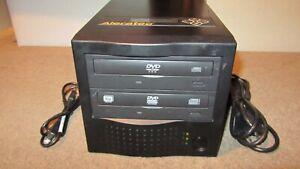Aleratec 1:1 DVD/CD Copy Cruiser Pro Stand-alone Movie & Music Duplicator TESTED
