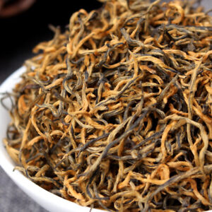 Organic Supreme Dianhong Golden Buds JIN SI Dian Hong Gold Yunnan Black Tea 250g