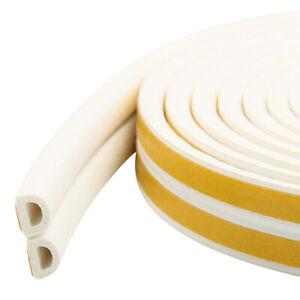 Rubber Sealing Strip Universal Weather Foam Tape Sponge 5M For Door Window UK