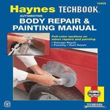 Automotive Body Repair & Painting Haynes Car Paint Manual Book