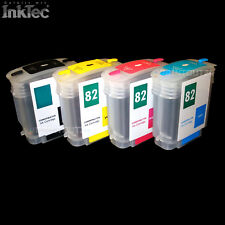 Mini Ciss Inktec Ink Refill Ink Set 82XL 82 For HP Designjet 510 Ps Plus