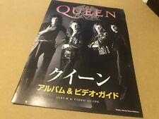 More details for queen album + video guide japanese promo booklet (10 pages) rare nr mint