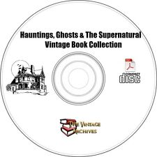 Hauntings, Ghosts & The Supernatural Vintage Book Collection on CD