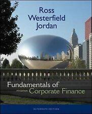 Fundamentals of Corporate Finance by Bradford D. Jordan, H/C as new
