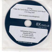 (DV19) El Dog, Let It Snow Let It Snow Let It Snow - 2009 DJ DVD