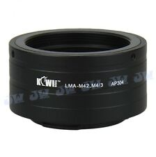 M42 LENS TO PANASONIC M43 MICRO 4/3 OLYMPUS PEN E-P1 EPL1 EPL2 CAMERA ADAPTER