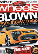 Wheels Jun 08 FPV F6 GT Boss HSV VE GTS G6E Turbo Calais V8 Mondeo Accord Mazda6
