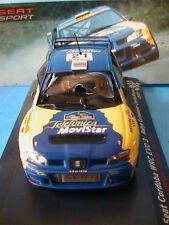 SEAT CORDOBA WRC EVO 3 #21 RALLY CATALUNYA COSTA BRAVA 2001 CANELLAS SANCHIS IXO