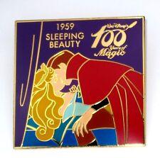 LE Disney Pin✿Sleeping Beauty Kiss Aurora RARE 100 Years of Magic Prince Phillip