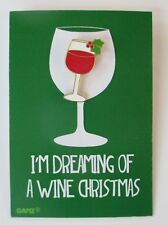 zzD I'm dreaming of a wine Christmas Especially For You Pin Jewelry white pun