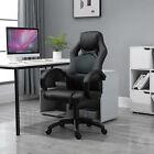 Homcom Racing Swivel Office Gaming Computer Chair Mesh Bucket Pu Leather