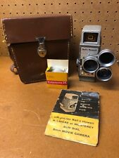 Vintage Bell & Howell Two-Fifty-Two (252) 8mm Movie Camera w/ Case & Film