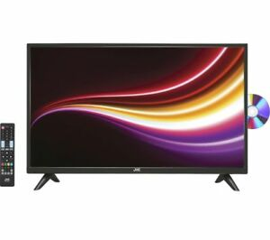 "JVC LT-32C485 32"" LED TV with Built-in DVD Player-Black"