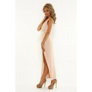 ELLE ZEITOUNE - Sahara Maxi Dress (Beige size 8)