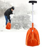 Detachable Telescopic Emergency Snow Shovel Portable Utility Tool Aluminum