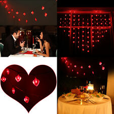 Valentine's Day Heart Shaped 20 led Novelty LIght String Set Decoration