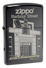 Zippo 28790 60th anniversary barbour street black ebony windproof Lighter