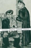 Jankel Adler : Jüdische Soldaten - Tuszyn - Entartete Kunst - um 1930  V 26-21