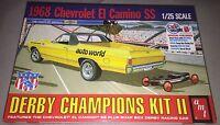 AMT 1968 El Camino with Soap Box Derby Car model car kit new 1018