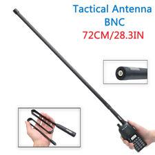 ABBREE 28.3IN BNC Foldable CS Tactical Antenna For ICOM Kenwood CB Two Way Radio