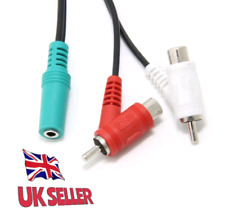 FEMALE RCA AUDIO SPLITTER CABLE FOR TURTLE BEACH® GAMING HEADSETS