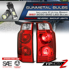 """/""""Super Bright LED BackUp/"""" For 06-10 Jeep Commander DARK RED Tail Light Signal"""