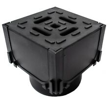 Aco Hexdrain Drainage Channel Corner Unit Black Plastic Grating Free UK Delivery