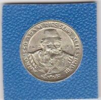 Adam Ries 1495 - 1559 anno 1550 Annaberg Buchholz Erzgebirge Medaille medal