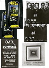 O.A.R. All Sides 4 Promo Stickers for cd Oar Stories of a Stranger Of Revolution