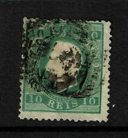 Portugal SC# 36, Used, Hinge Remnant, some minor bending - S7773