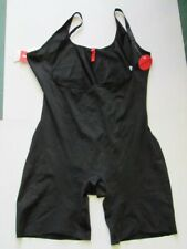 NWOT SPANX by SARA BLAKELY SIMPLICITY BLACK OPEN BUST MID THIGH BODYSUIT sz 1X)
