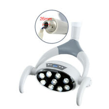 Dental Shadowless Oral Light Lamp 9 LED Lens φ 26mm Surgical Examination Light