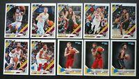 2019-20 Panini Donruss Cleveland Cavaliers Base Team Set 10 Basketball Cards