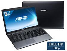 """ASUS HAUT DE GAMME 18.4"""" Full HD i7 3e gen@3.3GHz 8Go (max 32Go) SSD 90Go+1To BR"""