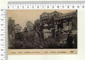 "10176) PC France 1914-15 WWI "" Albert - Tee Basilique "" Neuf - Mint"