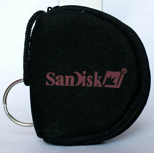 Sandisk memory card pouch for CF cards.