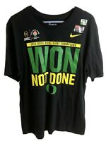 Nike Oregon Ducks Football Rose Bowl Shirt NWT Size XL