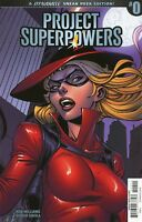2018 Project Superpowers #0 Incentive John Royle Sneak Peek 1:10 Variant Cover