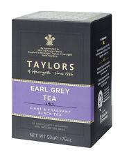 Taylors of Harrogate Earl Grey Tea - 20 Wrapped & Tagged Tea Bags