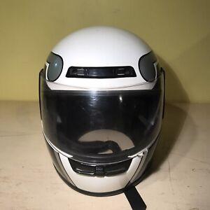 DOT Snell M2000 Max L Fiberglass Motorcycle Helmet Size Medium (Model L-880)