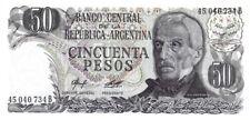 Argentine - Argentina billet neuf de 50 pesos pick 301a signature 2 UNC