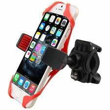 Universal Motorcycle MTB Bike Bicycle Handlebar Mount Holder Band For Cell Phone
