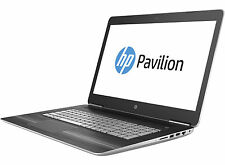 "HP 17-ab200na Core i7-7700HQ 4GB GT1050 17.3"" 16GB 1TB 128GB SSD DVDRW New"