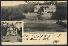 9479] AK 6145 Lindenfels, Winterkasten, Odenwald, Doktorhaus Sanatorium 1906 gel