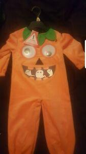 Childrens Pumpkin Costume