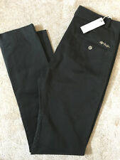 "DIESEL MEN'S BLACK ""PERCANTO"" TROUSERS PANTS CHINO - 29"" & 30"" - NEW TAGS - £168"