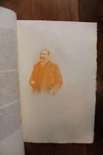 Colonel Rousset Figures Contemporaines Mariani Biographie 1911 1/25 ex. Rare
