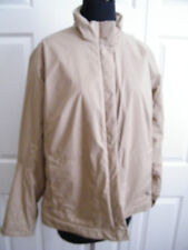 BOGNER WOMENS LIGHT TAN POLY PARKA /FLEECE LINED JACKET WARM, STYLISH SZ 12