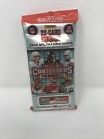 Panini 2020 Contenders Football NFL Cello Value Pack 22 Cards NEW SEALED IN HAND